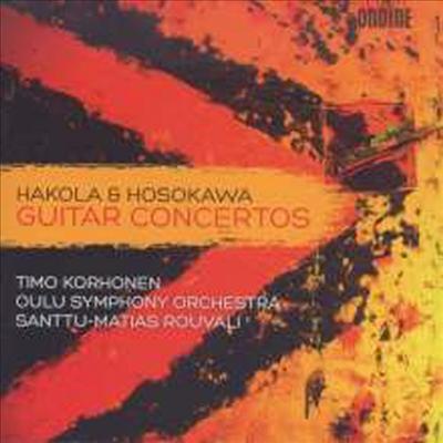 하콜라, 호소카와: 기타 협주곡 (Hakola & Hosokawa: Guitar Concertos) - Timo Korhonen