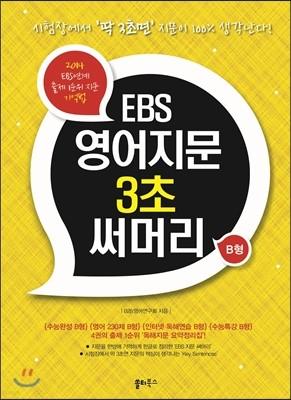 EBS 영어지문 3초 써머리 B형 (2013년)