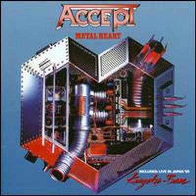 Accept - Metal Heart / Kaizoku-Ban: Live In Japan 85'