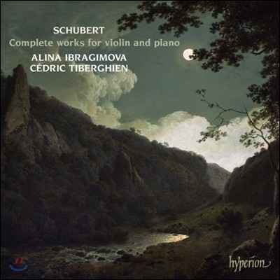 Alina Ibragimova / Cedric Tiberghien 슈베르트: 바이올린과 피아노를 위한 작품 전곡집 - 알리나 이브라기모바 (Schubert: Complete works for violin and piano)