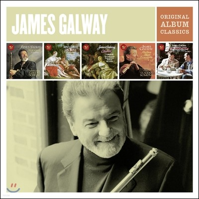 James Galway Origninal Album Classic 제임스 골웨이 - 플루트 협주곡과 소나타