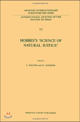 Hobbes's 'science of Natural Justice'