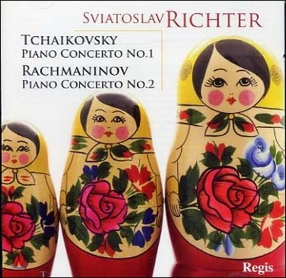 Sviatoslav Richter 스비아토슬라브 리히테르 러시아 피아노 협주곡집 - 차이코프스키 / 라흐마니노프 (Tchaikovsky / Rachmaninov: Piano Concerto)