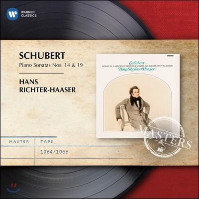 Hans Richter-Haaser 슈베르트: 피아노 소나타 14, 19번 - 리히터-하서 (Schubert: Piano Sonatas D. 784, 958)
