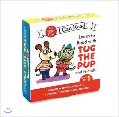 Learn to Read With Tug the Pup and Friends! Set 1