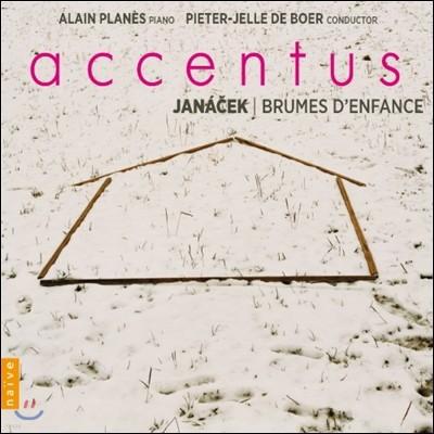 Accentus 야나체크: 무반주 혼성 합창을 위한 작품집 - 악상투스 (Janacek: Brumes d'Enfance / Mists of Childhood)