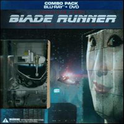 Blade Runner 30th Anniversary Collector's Edition :4-Disc Blu-ray / DVD +Book +UltraViolet Digital Copy Combo Pack (블레이드 러너) (한글무자막)(Blu-ray) (1982)