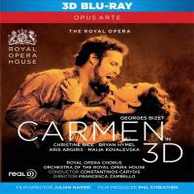 비제 : 카르멘 (Bizet : Carmen) (3D Blu-ray)(Blu-ray)(2012) - Constantinos Carydis