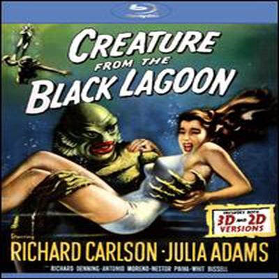 Creature From the Black Lagoon (해양 괴물) (한글무자막)(Blu-ray) (1954)
