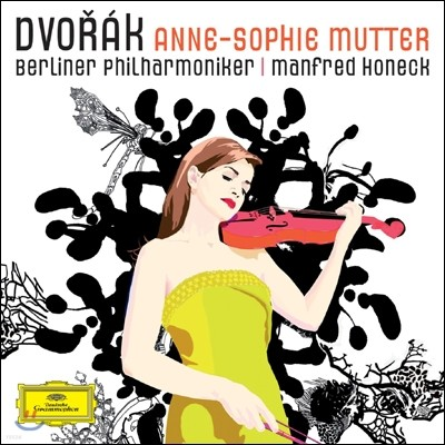 Anne-Sophie Mutter 드보르작: 바이올린 협주곡, 마주르카, 로망스 / 크라이슬러: 유머레스크 (Dvorak: Violin Concerto Op.53) 안네 소피 무터