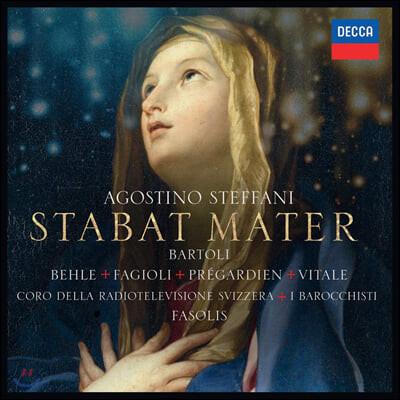 Diego Fasolis 아고스티노 스테파니: 스타바트 마테르 외 (Agostino Steffani: Stabat Mater etc.)