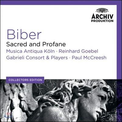 Paul McCreesh 하인리히 비버: 종교곡과 세속곡 (Heinrich Biber: Sacred and Profane)