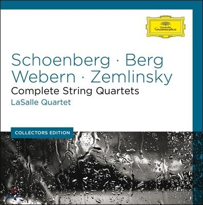 LaSalle Quartet 쇤베르크, 베르크, 베베른, 쳄린스키: 현악 사중주 (Schoenberg / Berg / Webern / Zemlinsky: String Quartets)