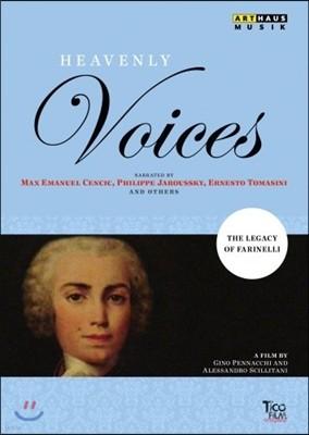 Philippe Jaroussky 천상의 목소리들 : 파리넬리의 전설 [카운터테너]
