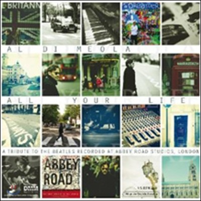 Al Di Meola (알 디 메올라) - All Your Life: A Tribute To The Beatles (비틀즈 트리뷰트 앨범) [2LP]