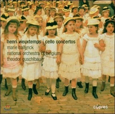 비외탕 : 첼로 협주곡 1,2번 - 할리닉, 구슐바우어