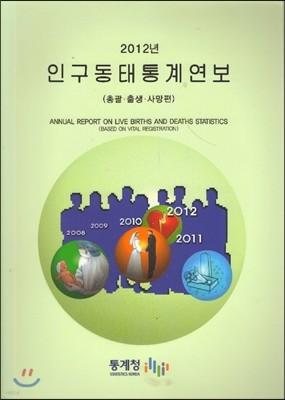 2012 인구동태통계연보