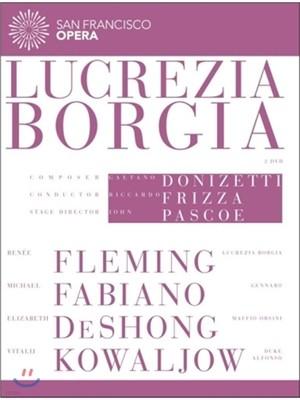 Renee Fleming / Riccardo Frizza 도니제티: 루크레차 보르자 (Donizetti: Lucrezia Borgia)