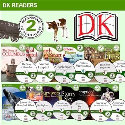 DK Science Readers Level 2 시리즈 12종 Set