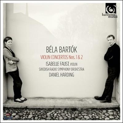 Isabelle Faust 바르톡 : 바이올린 협주곡 (Bela Bartok: Violin Concertos Nos. 1 & 2) 이자벨 파우스트