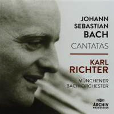 칼 리히터가 지휘하는 - 바흐: 75개의 칸타타 (Karl Richter - Bach: 75 Cantatas) (26CD Boxset) - Karl Richter