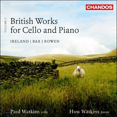 Paul & Huw Watkins 영국의 첼로와 피아노를 위한 작품 2집 (British Works for Cello and Piano, Vol. 2)