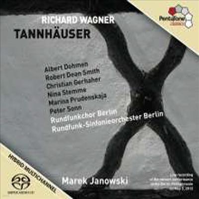 바그너: 탄호이저 (Wagner: Tannhauser) (3SACD Hybrid) - Marek Janowski