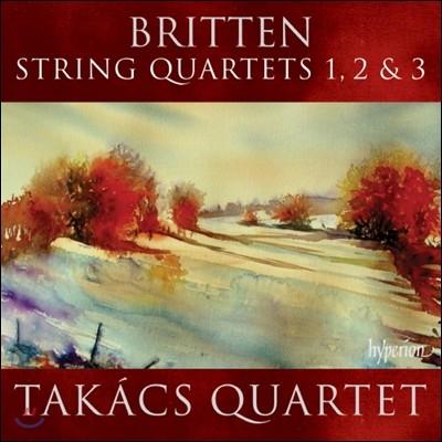 Takacs Quartet 브리튼 : 현악 4중주 - 타카치 사중주단 (Britten: String Quartets Nos. 1, 2 & 3)