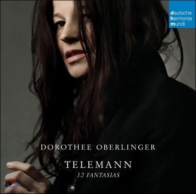 Dorothee Oberlinger 텔레만 : 리코더로 연주한 12개의 환상곡 (Telemann : 12 Fantasias) 오베를링거