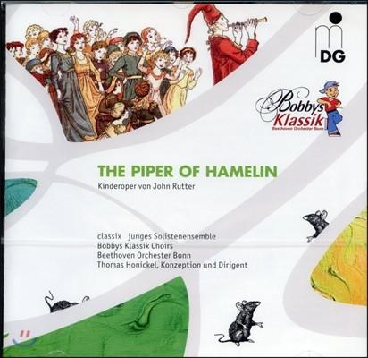 존 러터  : 어린이 오페라 '하멜린의 피리부는 사나이'