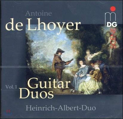 로예르  : 기타 듀오를 위한 작품들