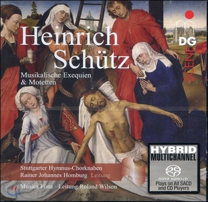 Musica Fiata 쉬츠: 무지칼리셰 엑제퀴엔 및 모테트/ 샤인: 모음곡 (Schutz: Musikalische Exequien, Motets)