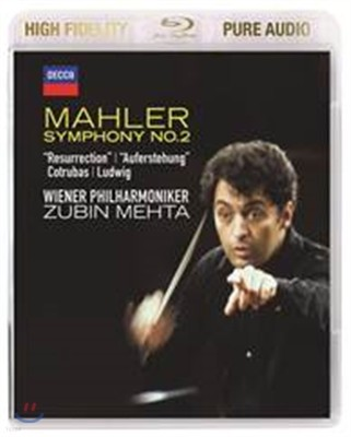 Zubin Mehta 말러: 교향곡 2번 '부활' (Mahler: Symphony No.2 - 'Resurrection') 주빈 메타
