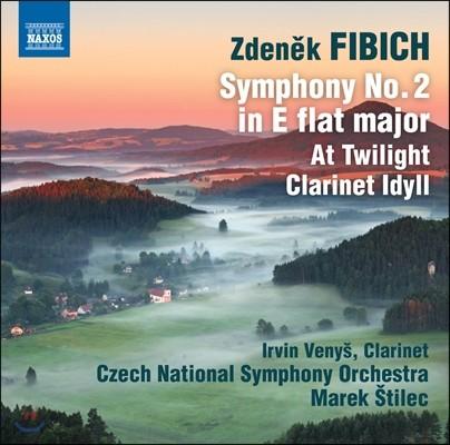 Marek Stilec 피비히: 관현악 작품 2집 - 교향곡 2번, 황혼에, 클라리넷과 관현악을 위한 목가 '셀란카' (Zdenek Fibich: Symphony Op.38, At Twilight, Clarinet Idyll) 마렉 슈틸레츠