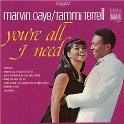 Marvin Gaye & Tammi Terrell - You're All I Need (Ltd. Ed)(Remastered)(일본반)