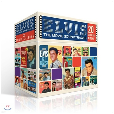 The Perfect Elvis Presley Movie Soundtracks Collection (퍼펙트 엘비스 프레슬리 사운드트랙 컬렉션): 20 Original Albums