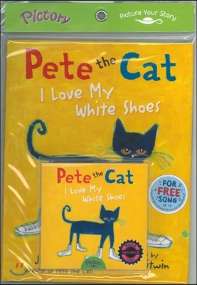 Pictory Set Pre-Step 45 : Pete the Cat I Love My White Shoes (Paperback Set)