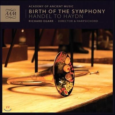 Richard Egarr 헨델 / 하이든 / 모차르트 / 슈타미츠 / 리히터: 교향곡 (Birth of the Symphony)