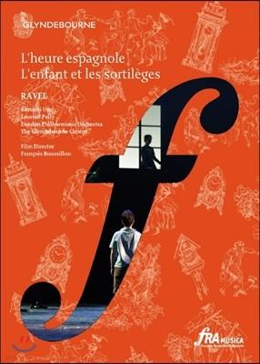London Philharmonic Orchestra 라벨: 오페라 스페인의 한때, 어린이와 마법 (Ravel: L`Enfant et les Sortileges, l`Heure Espagnole)