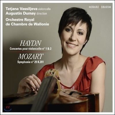 Tatjana Vassiljeva 하이든 : 첼로 협주곡 / 모차르트: 교향곡 29번 (Haydn: Cello Concertos Nos. 1 & 2)