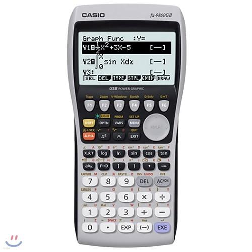 [카시오] FX-9860G II /공학용 / 좌표변환 / 삼각,역삼각함수 / 통계 / 그래프 / 백라이트 / USB연결