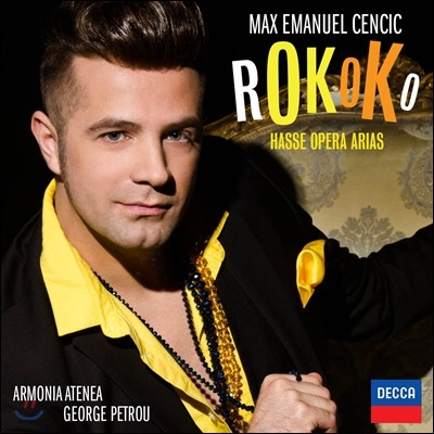Max Emanuel Cencic 로코코 : 하세 오페라 아리아 - 막스 엠마누엘 첸칙 (Rokoko: Hasse Opera Arias)
