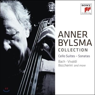 Anner Bymsma Collection 안너 빌스마가 연주하는 무반주 첼로 모음곡과 소나타집 (Cello Suite / Sonatas)