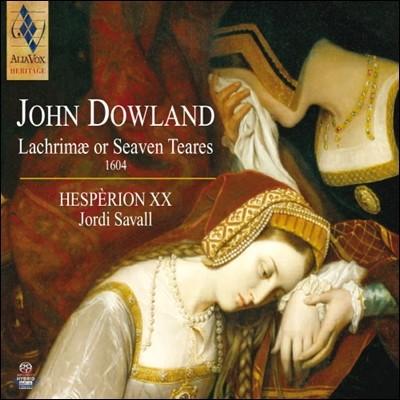 Jordi Savall 존 다울랜드: 라크리메 혹은 7개의 슬픈 선율 (John Dowland: Lachrimae or Seaven Teares)