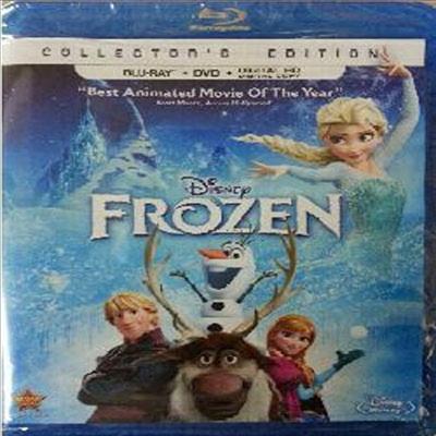 Frozen (겨울 왕국) (한글무자막)(Two-Disc: Blu-ray+DVD+Digital Copy) (2014)