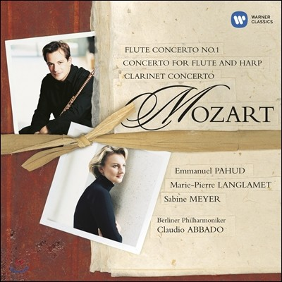Emmanuel Pahud 모차르트: 플루트 & 클라리넷 협주곡 - 엠마누엘 파후드, 자비네 마이어, 클라우디오 아바도