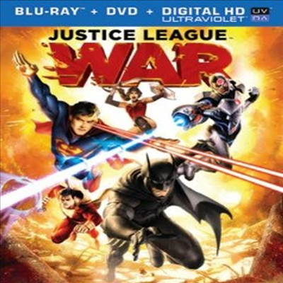 Justice League: War (저스티스 리그 : 워) (한글무자막)(Blu-ray) (2014)