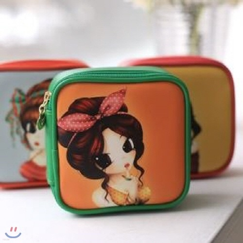 Funny Make-up Pouch 화장품 파우치 (M)