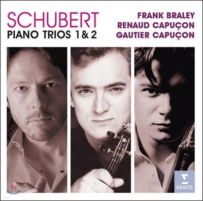 Renaud / Gautier Capucon 슈베르트: 피아노 삼중주 1, 2번 (Schubert: Piano Trios op.99, 100)