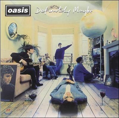 Oasis - Definitely Maybe 오아시스 데뷔 앨범 [2LP]